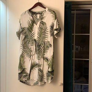 H&M Tropical Print Dress
